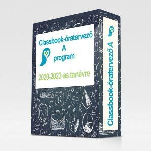 Classbook-óratervező A 2020-2023-as tanévre